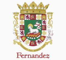 Fernandez Shield of Puerto Rico by William Martin