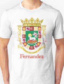 Fernandez Shield of Puerto Rico T-Shirt