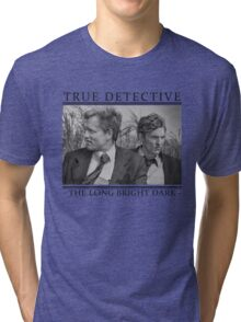 True Detective - 'The Long Bright Dark' Tri-blend T-Shirt