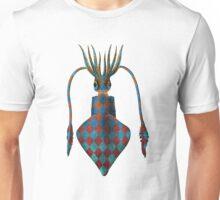 Fantasy Squid Vintage Illustration Unisex T-Shirt