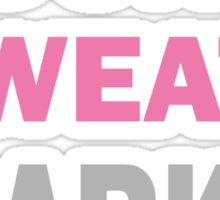 I Dont Sweat I Sparkle Sticker