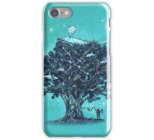 Deep Tree Diving  iPhone Case/Skin