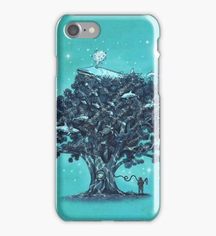 Deep Tree Diving  iPhone Case/Skin