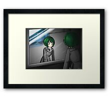 Original Art: Who Am I Framed Print