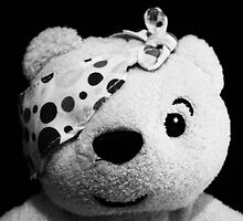 Pudsey B&W Art Photography Print by Scoundrelphoto