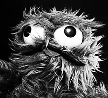 Grouch Sesame Street B&W Art Photography Print by Scoundrelphoto