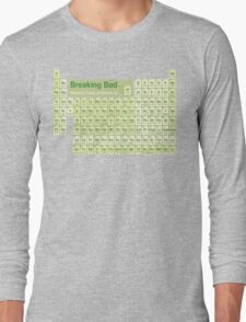 Breaking Bad periodic table Long Sleeve T-Shirt