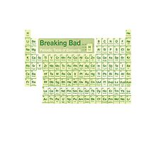 Breaking Bad periodic table Photographic Print