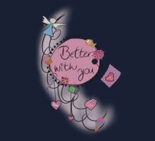 Better with you One Piece - Long Sleeve