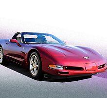 2002 Chevrolet Corvette Convertible II by DaveKoontz