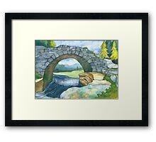 Pont Y Llyn Ddu Framed Print