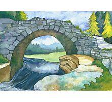 Pont Y Llyn Ddu Photographic Print