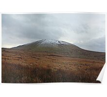 Pendle Hill From Barley Poster