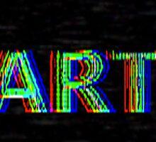 """ART LOGO"" by ryankellervideo"