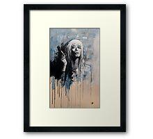 FEMME A LA CIGARETTE Framed Print