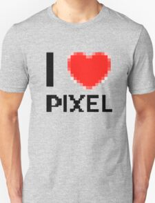 I love / heart pixel T-Shirt