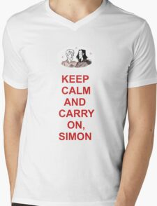 Fangirl - Simon Snow Mens V-Neck T-Shirt