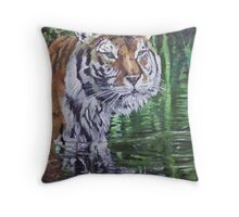 Swamp Thing Throw Pillow