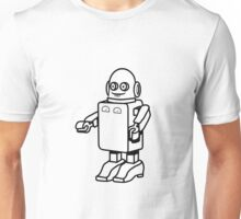 Robot funny cool design funny cartoon Unisex T-Shirt