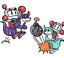 Bomberman  by Perky Penguin Designs