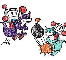Bomberman  by Pandora's  Scribbles