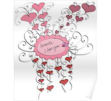 because I love you Poster