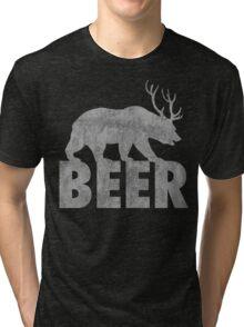 BEAR OR DEER Tri-blend T-Shirt
