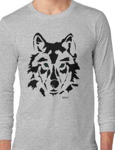 RAW WOLF STENCIL TEE Long Sleeve T-Shirt