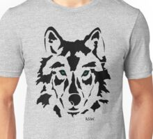 RAW WOLF STENCIL TEE Unisex T-Shirt