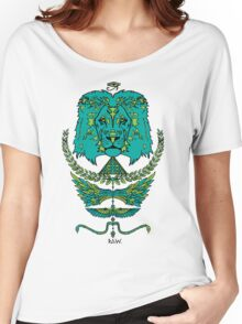 RAW LION TOTEM TEE Women's Relaxed Fit T-Shirt