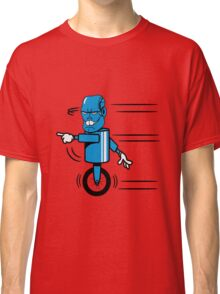 Robot monster funny cool fast funny comic Classic T-Shirt