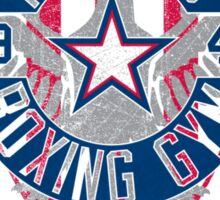 Rogers Boxing Gym 2 on White Sticker