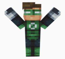 Green Lantern Minecraft by kidswami