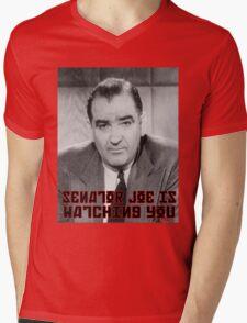 Senator Joe Is Watching You Mens V-Neck T-Shirt