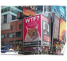 New York Times Square Billboards 3 Poster