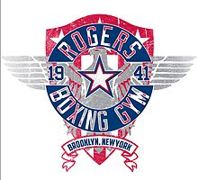 Rogers Boxing Gym 2 on White by popnerd