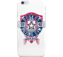 Rogers Boxing Gym 2 on White iPhone Case/Skin