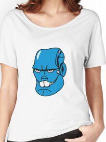 Robot monster cool comic face Women's Relaxed Fit T-Shirt