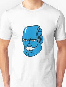 Robot monster cool comic face Unisex T-Shirt