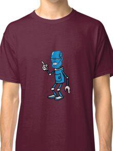 Robot monster cool attention fun comic Classic T-Shirt