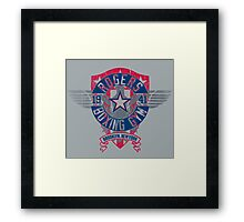Rogers Boxing Gym 2 on Steel Framed Print