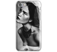 Bride portrait iPhone Case/Skin