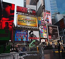 New York Times Square Billboards by silvianeto