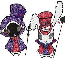 Karneval creatures by Pandora's  Scribbles