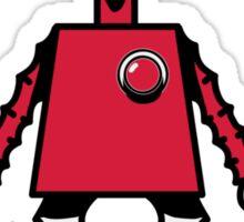 Robot woman's heart Romance love Sticker