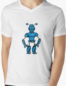 Cool funny robot toy fun Mens V-Neck T-Shirt
