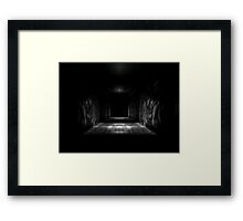 When The Lights Go Out Framed Print