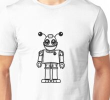 Cool funny robot toy fun Unisex T-Shirt