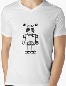 Cool funny robot toy fun Mens V-Neck T-Shirt