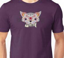 Día de los Muertos Kitty Unisex T-Shirt